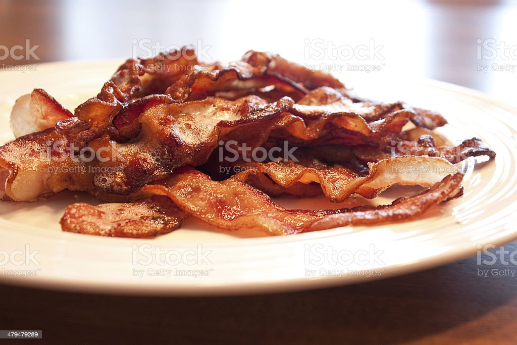 Fresh Bacon stock photo