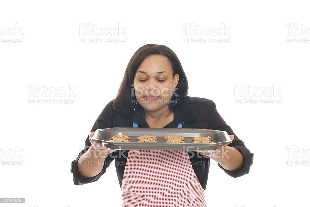 Fresh Baked Cookies royalty-free stock photo