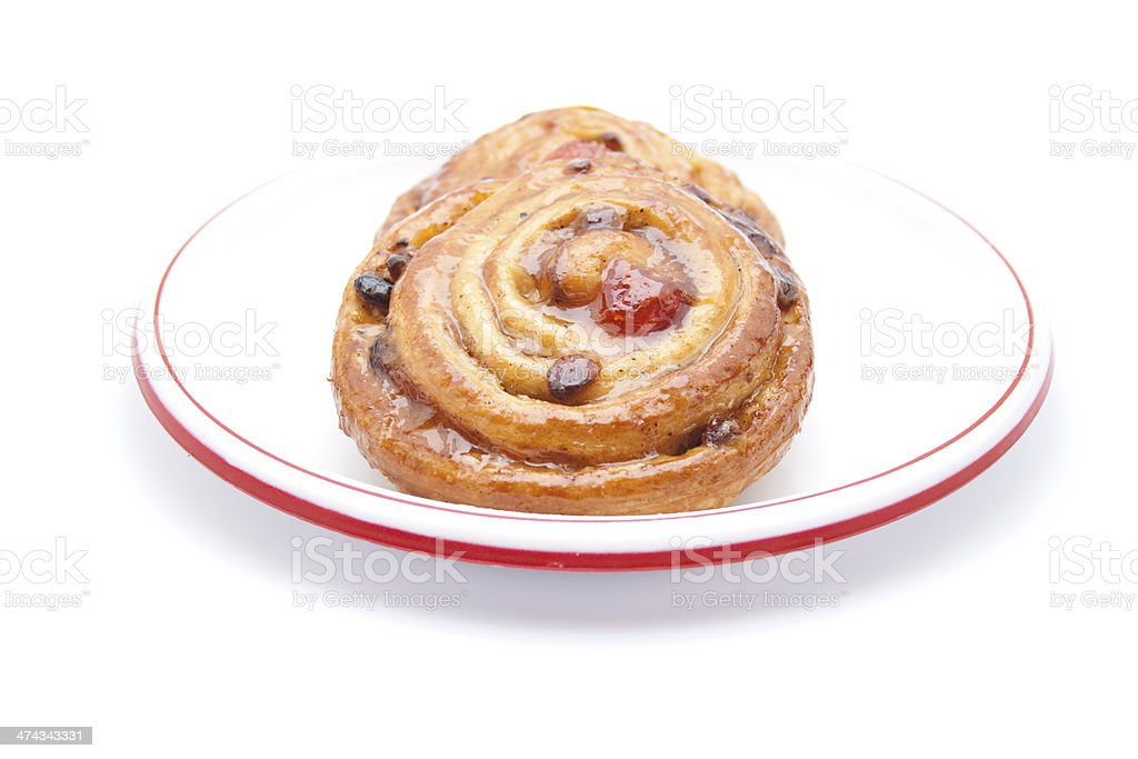 Fresh Baked Pastry stock photo