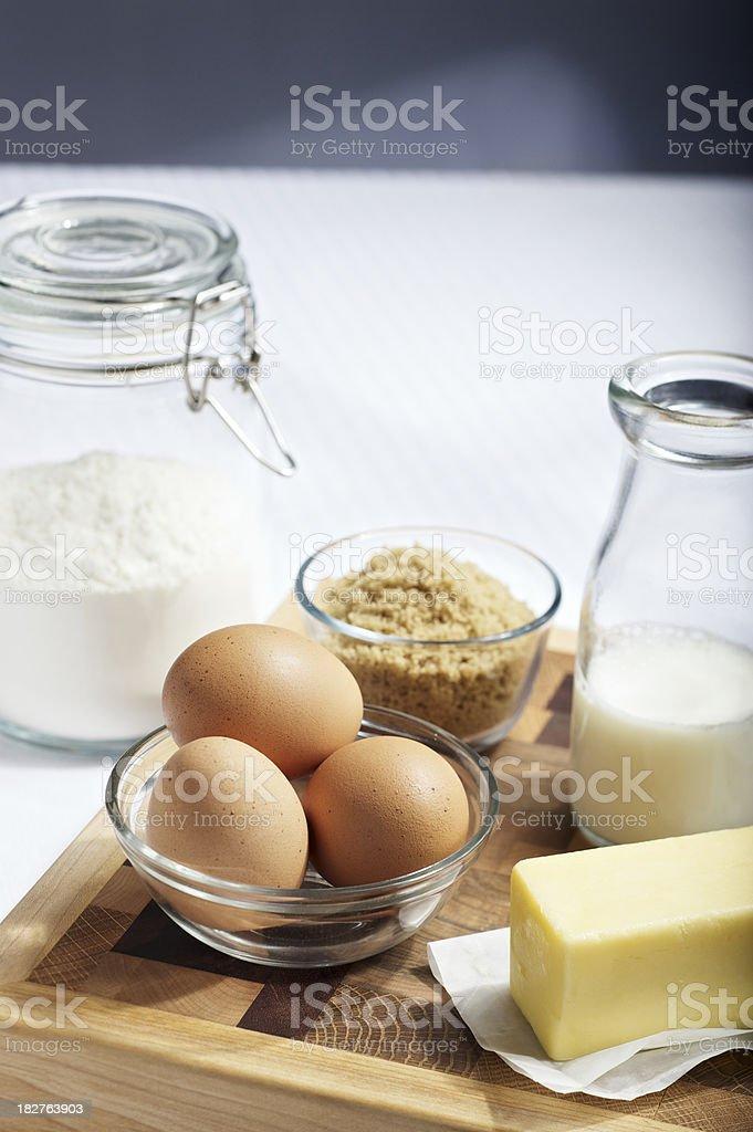 Fresh Baking Ingedients royalty-free stock photo