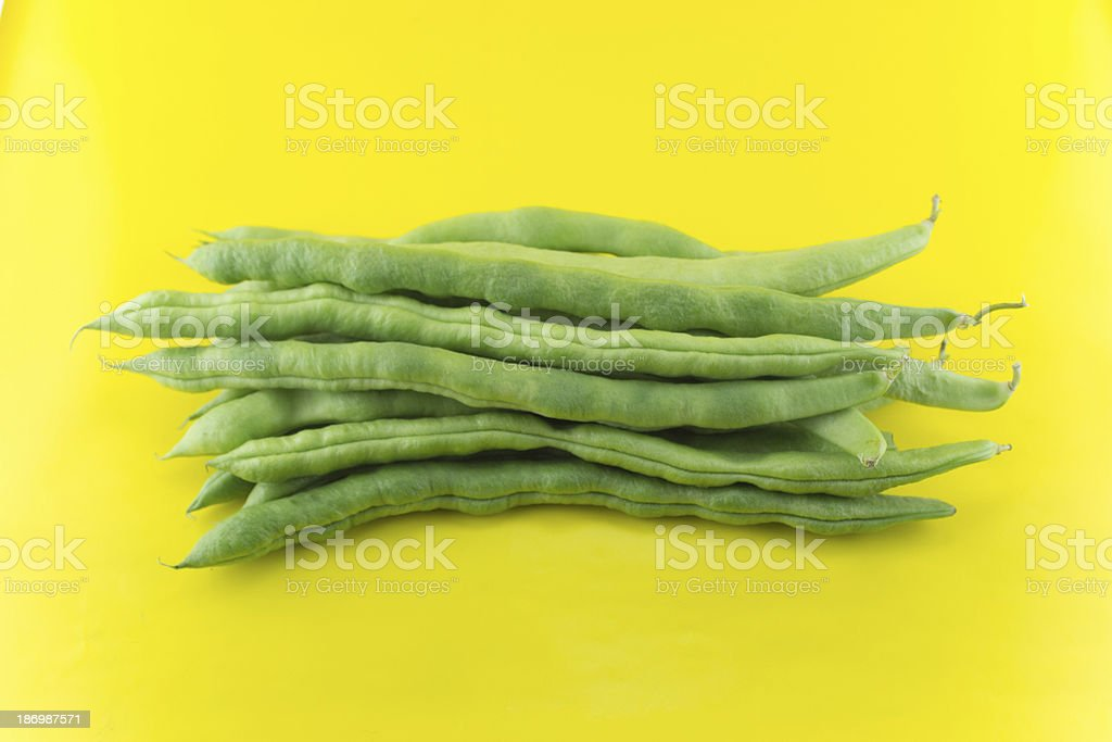 fresh beans royalty-free stock photo