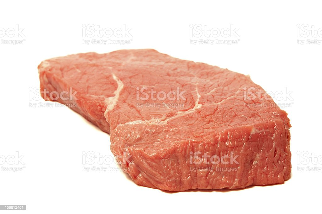Fresh beef and rosemary royalty-free stock photo