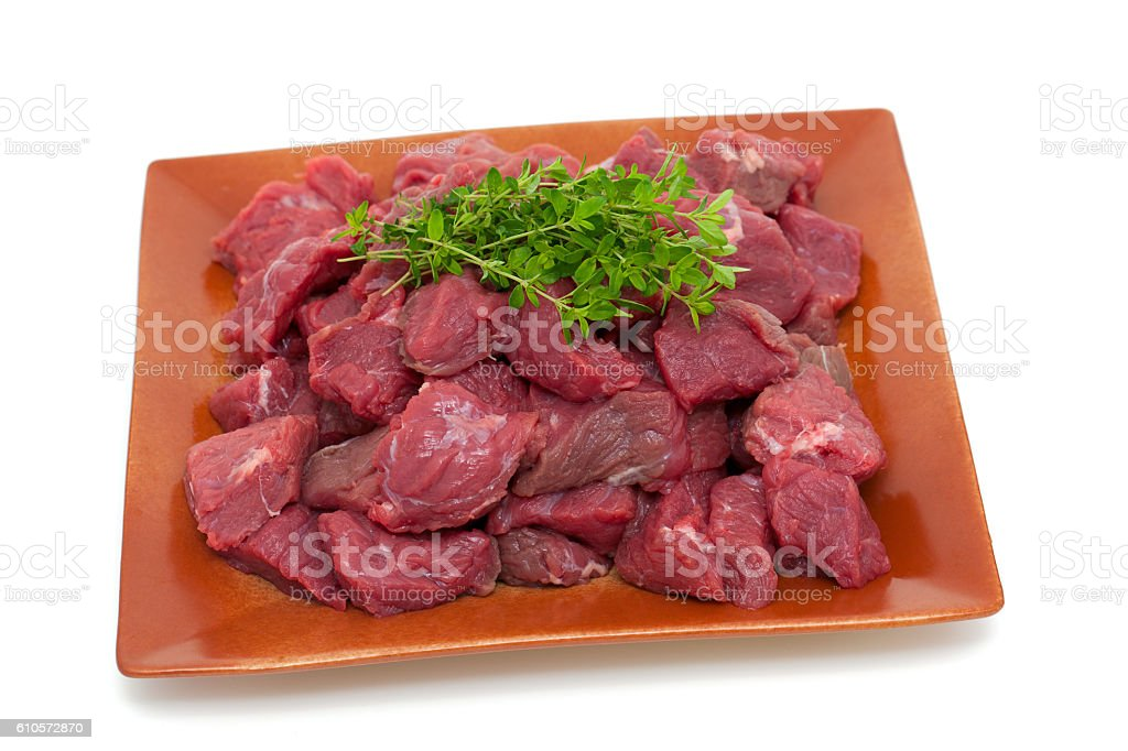 fresh beef meat stock photo