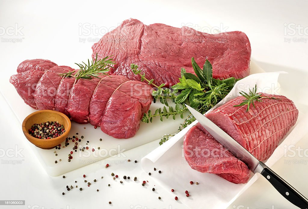 Fresh beef royalty-free stock photo