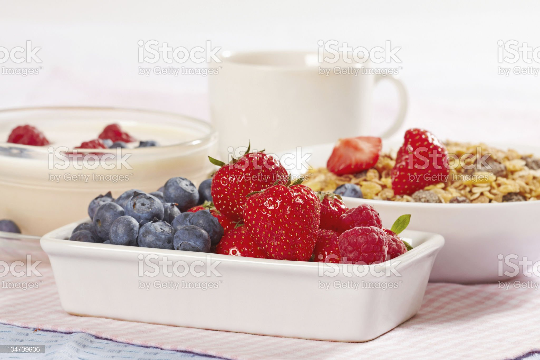 fresh berries royalty-free stock photo