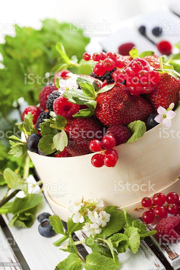 Fresh berries royalty-free stock photo