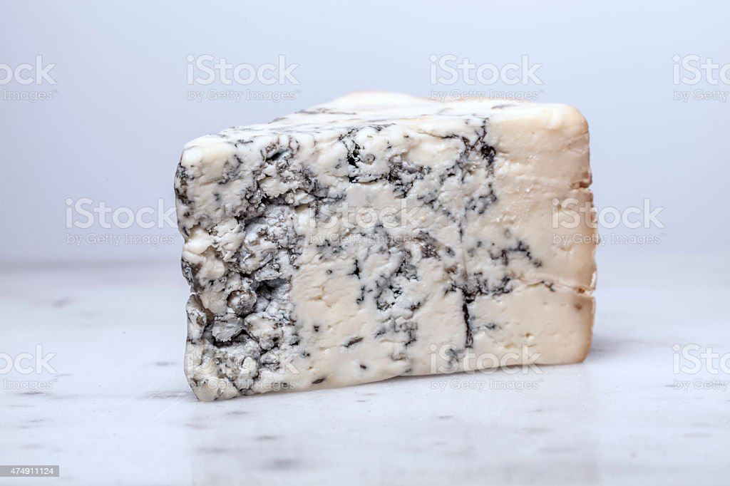 Fresh Blue Cheese stock photo