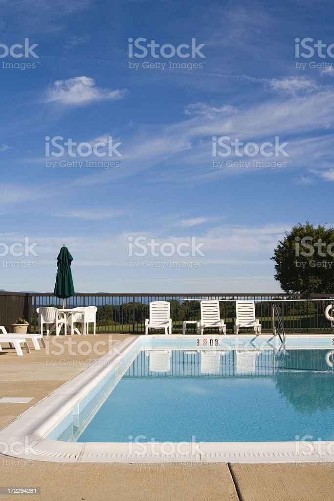 Fresh blue hue royalty-free stock photo