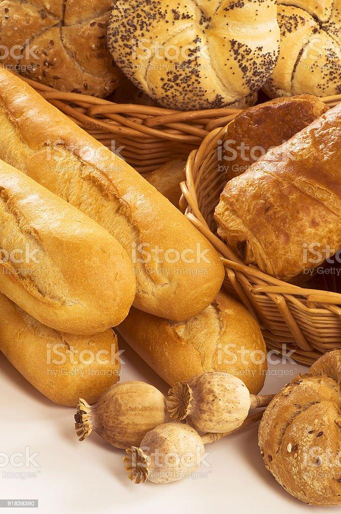 Свежий хлеб и выпечка Стоковые фото Стоковая фотография