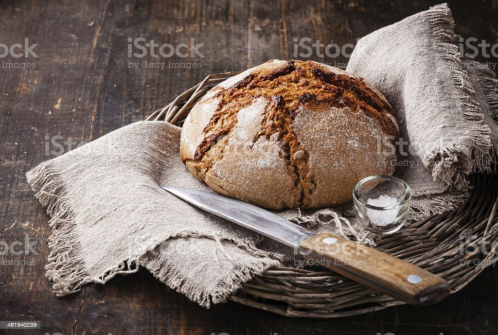Fresh bread stock photo