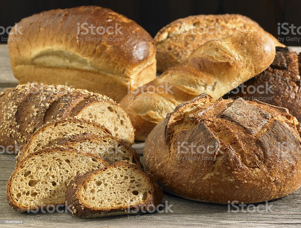Fresh Breads stock photo