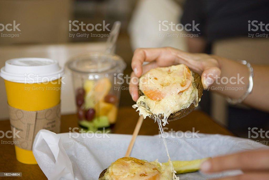 Fresh breakfast royalty-free stock photo