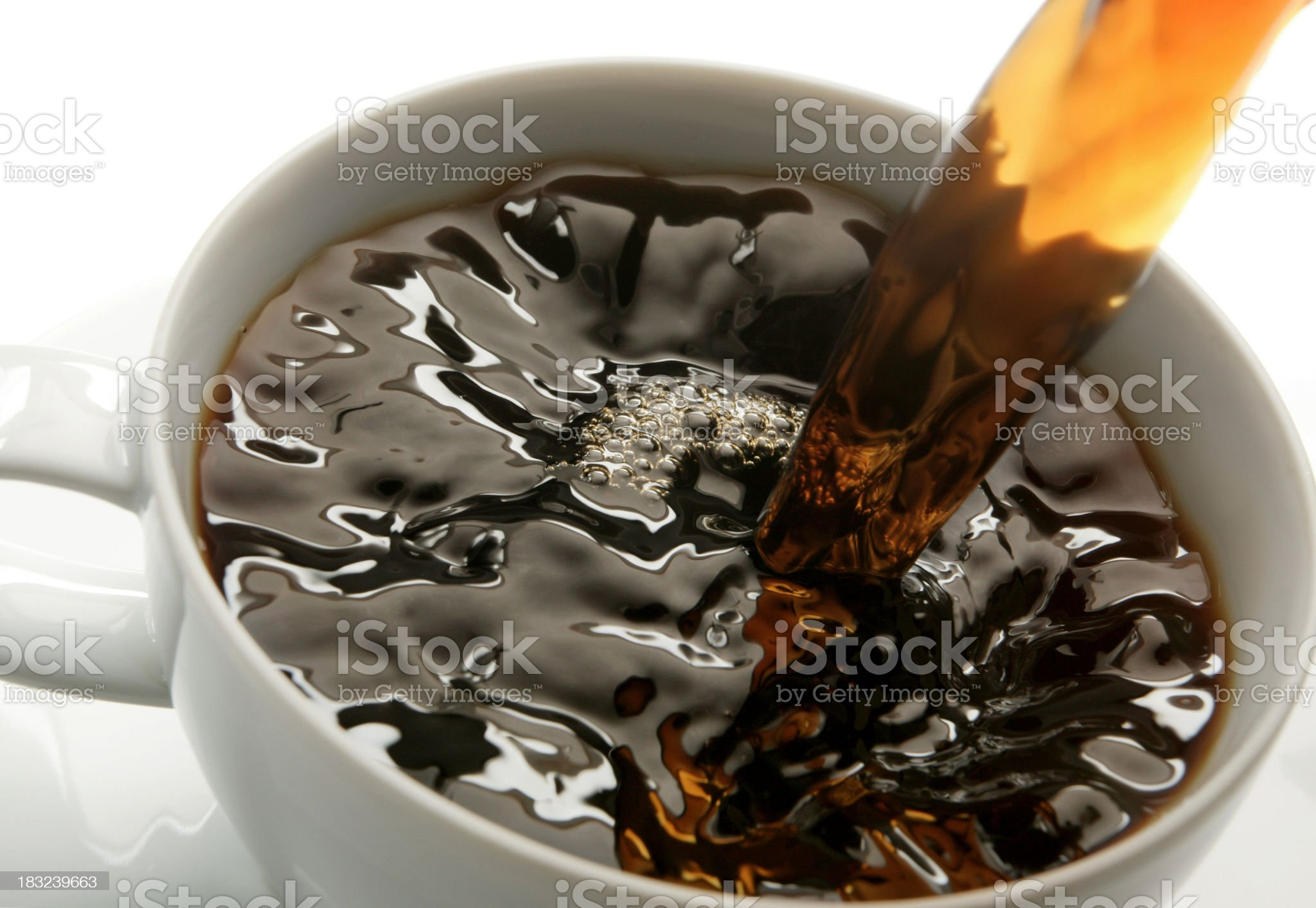 Fresh Brew royalty-free stock photo