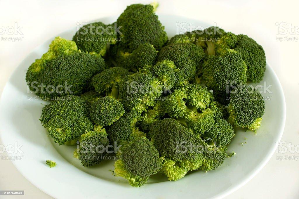 fresh brocoli stock photo