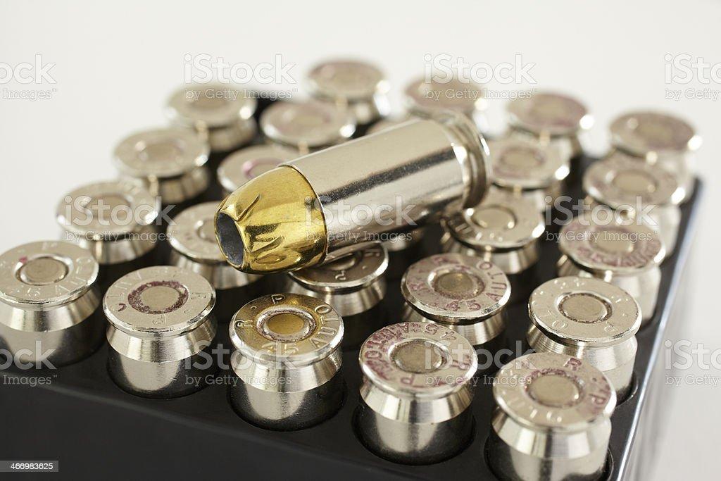 Fresh Bullet stock photo