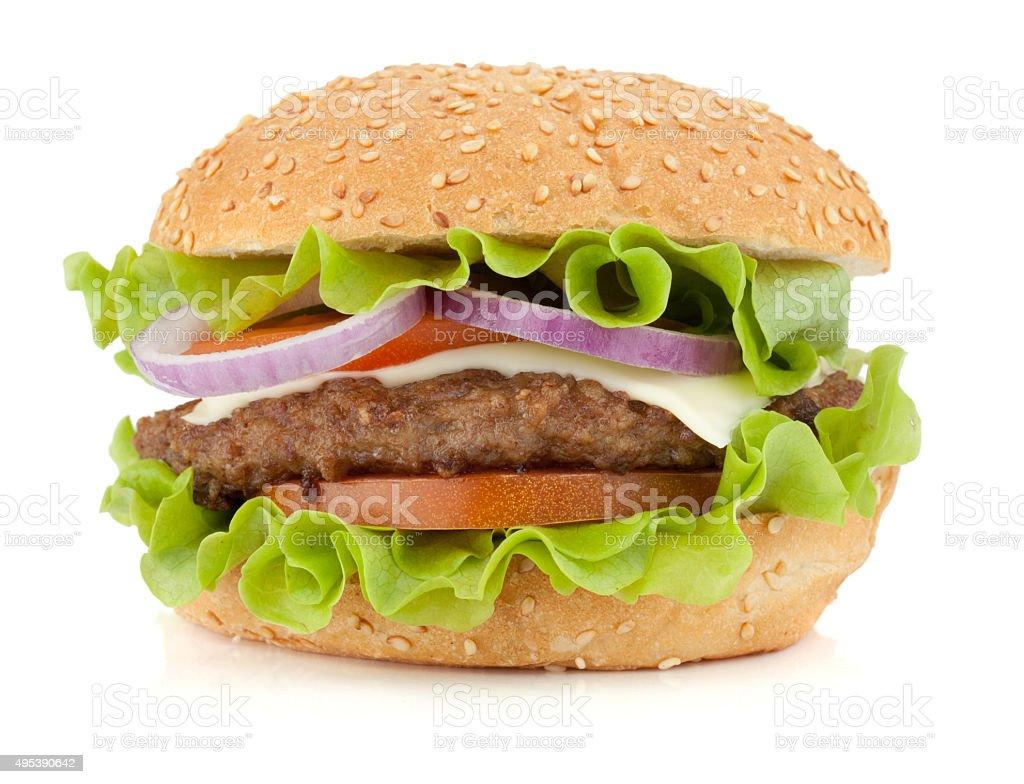 Fresh burger stock photo