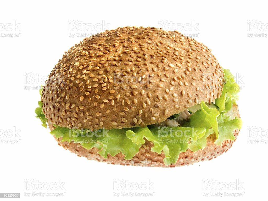 Fresh burger royalty-free stock photo