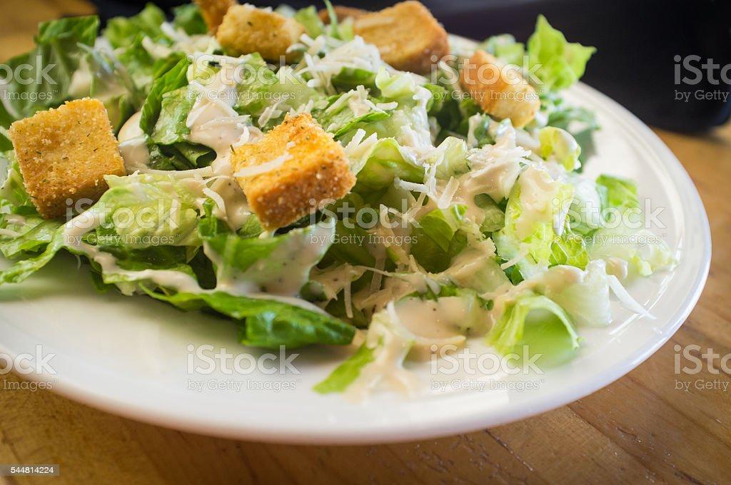 Fresh Caesar Salad stock photo
