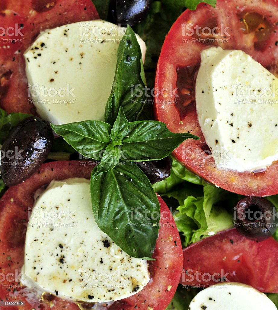 Fresh Caprese royalty-free stock photo