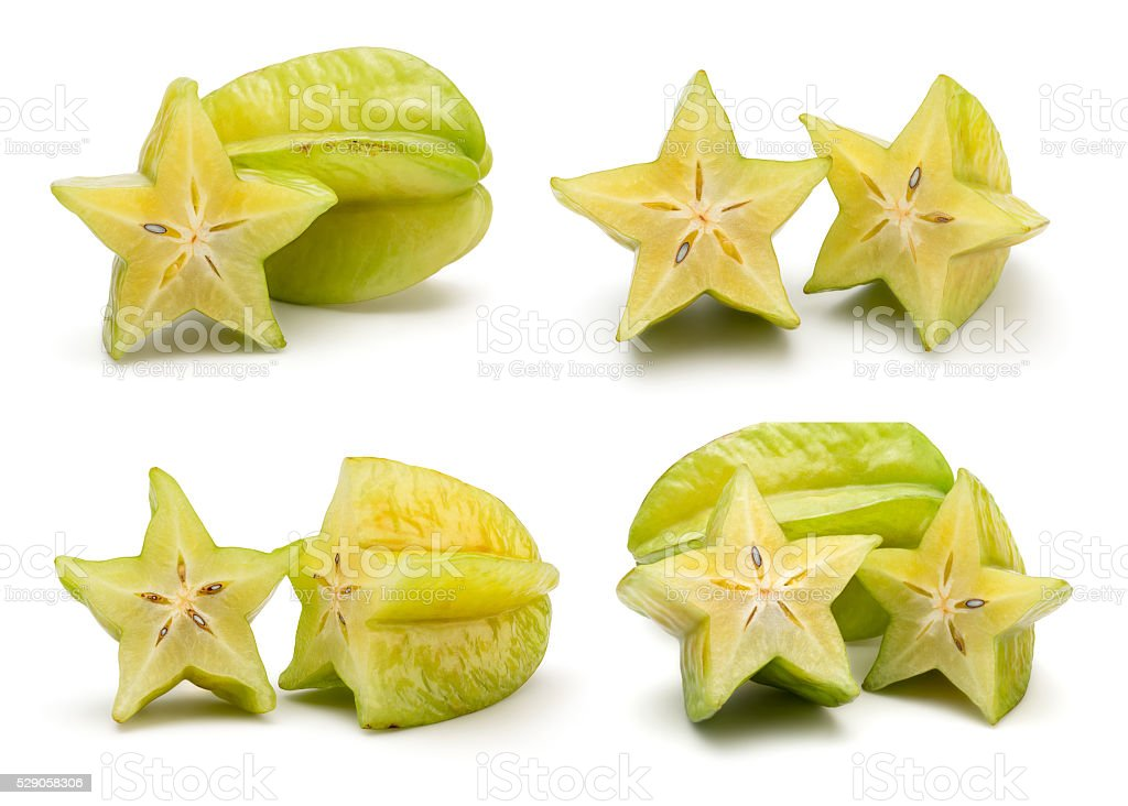 Fresh Carambola stock photo