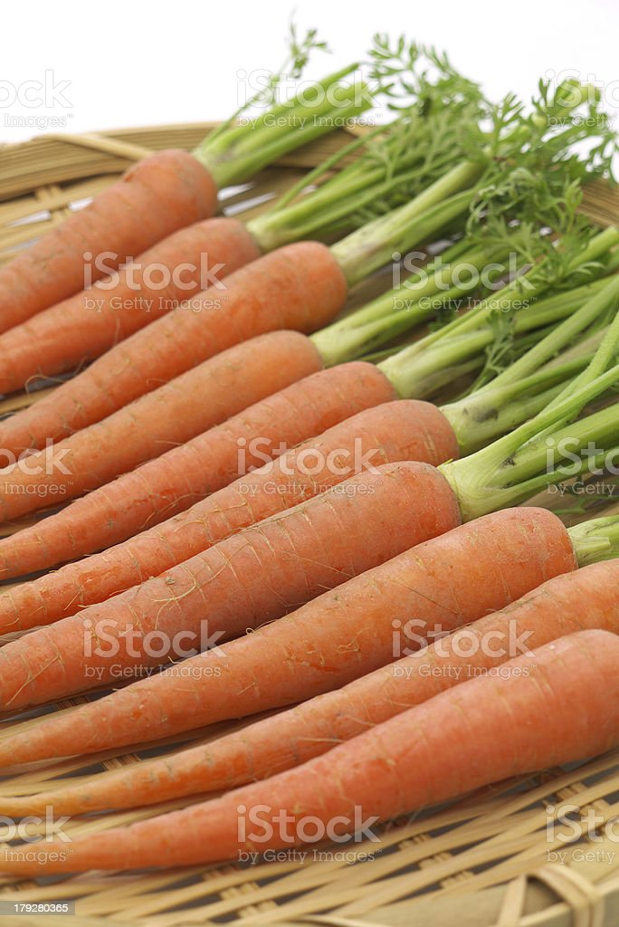 Fresh Carrot royalty-free stock photo