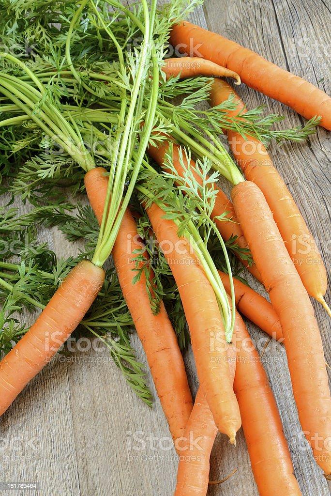 fresh carrots royalty-free stock photo