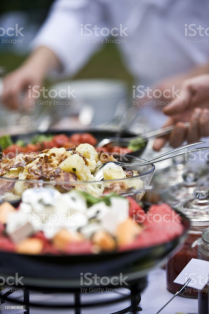 Fresh catering XXL royalty-free stock photo