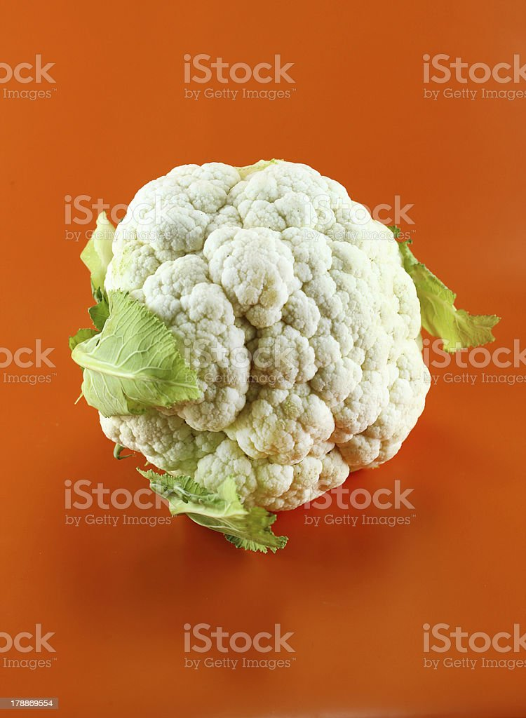 Fresh cauliflower royalty-free stock photo