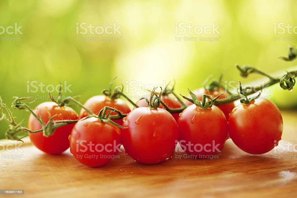 Fresh Cherry tomato royalty-free stock photo