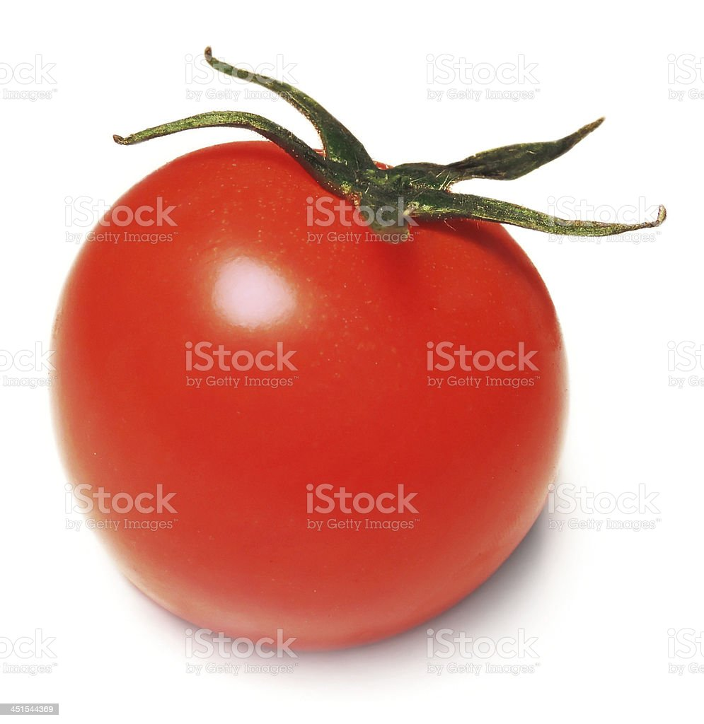 fresh cherry tomato stock photo