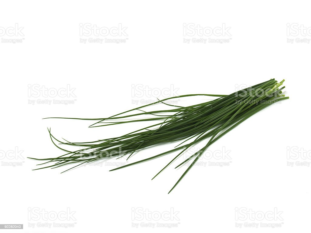 Fresh Chives royalty-free stock photo