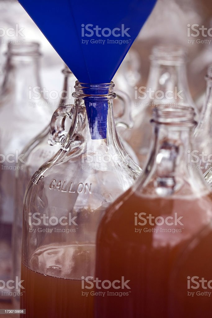 Fresh Cider royalty-free stock photo
