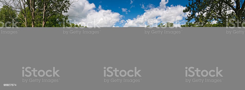 Fresh clear stream in idyllic valley royalty-free stock photo