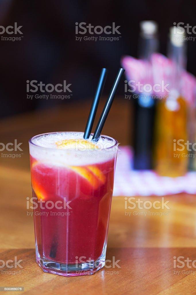 Fresh cocktail stock photo