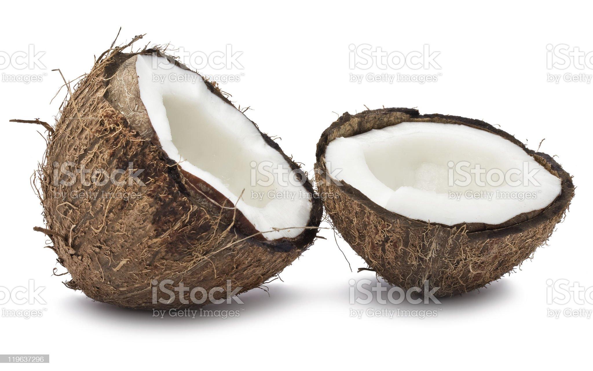 Fresh coconut royalty-free stock photo