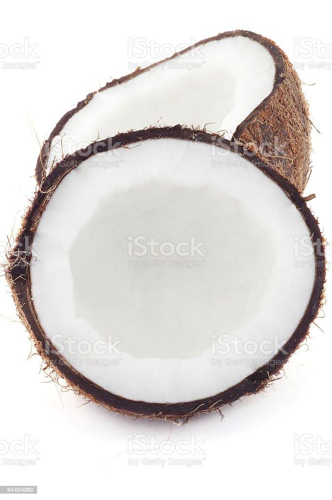 Fresh coconut . royalty-free stock photo