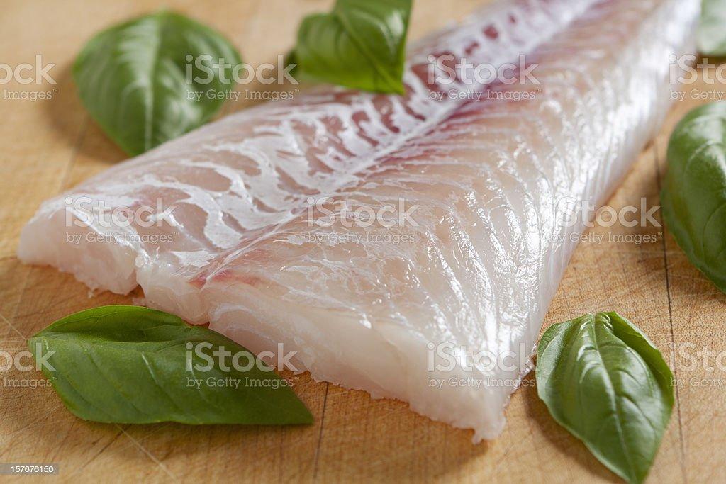 Fresh Cod Fish royalty-free stock photo