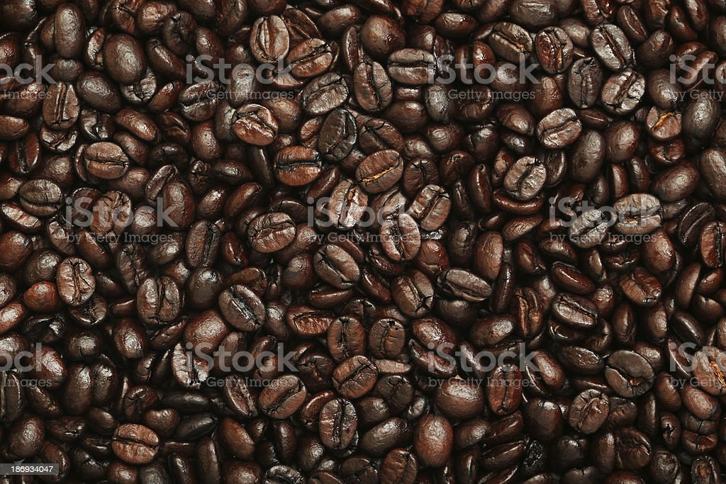 Fresh Coffee Beans royalty-free stock photo