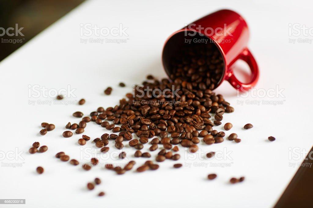 Fresh Coffee Beans to Brew stock photo