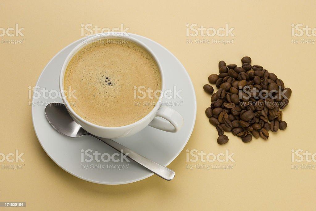 Fresh Coffee royalty-free stock photo