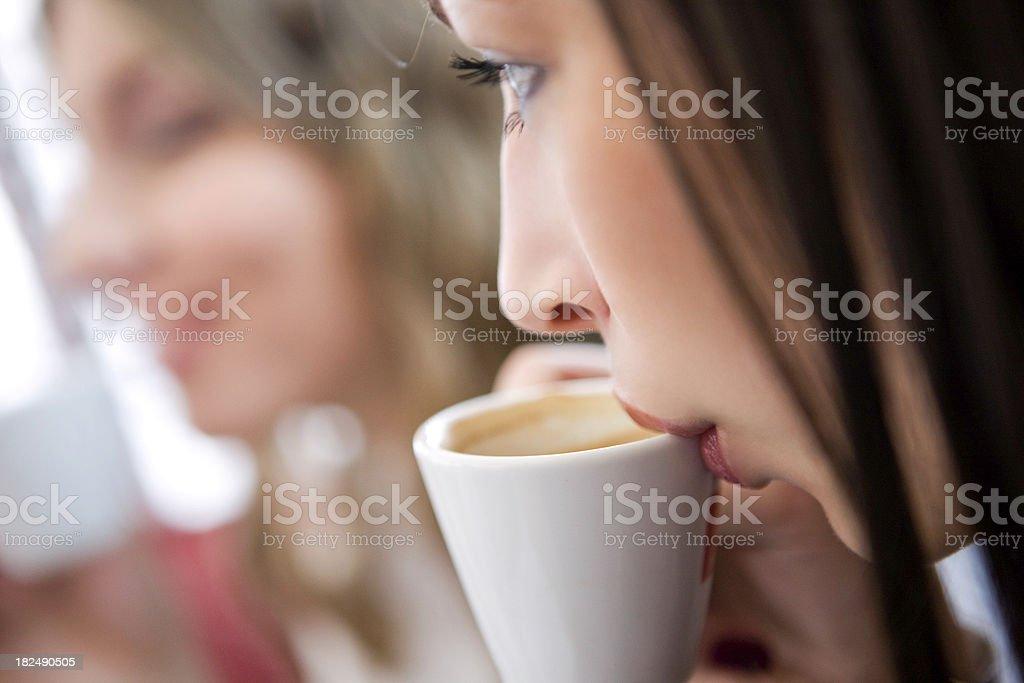 Fresh coffee stock photo