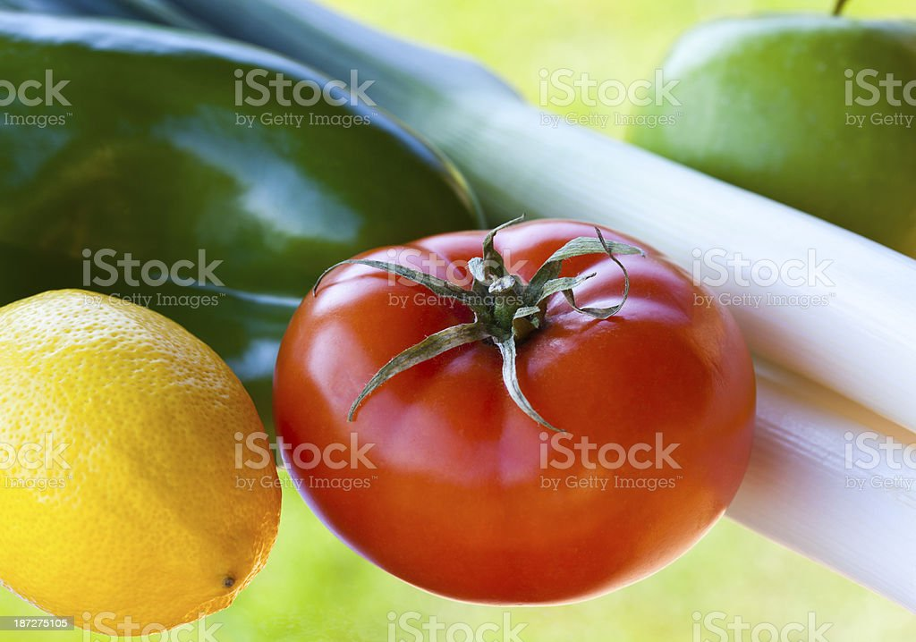 Fresh colorful vegetables royalty-free stock photo