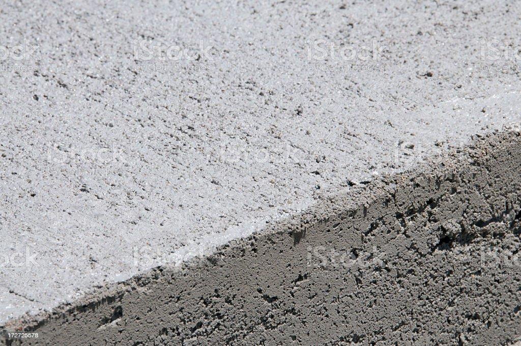 Fresh Concrete Edge royalty-free stock photo