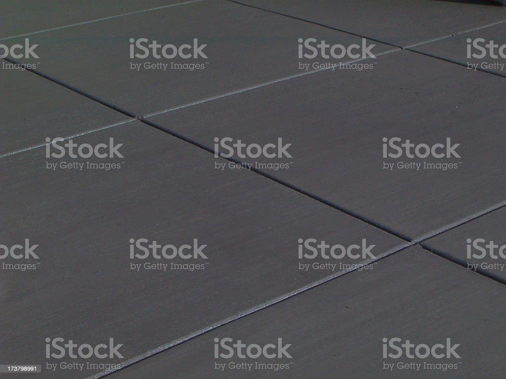 Fresh Concrete Lines stock photo