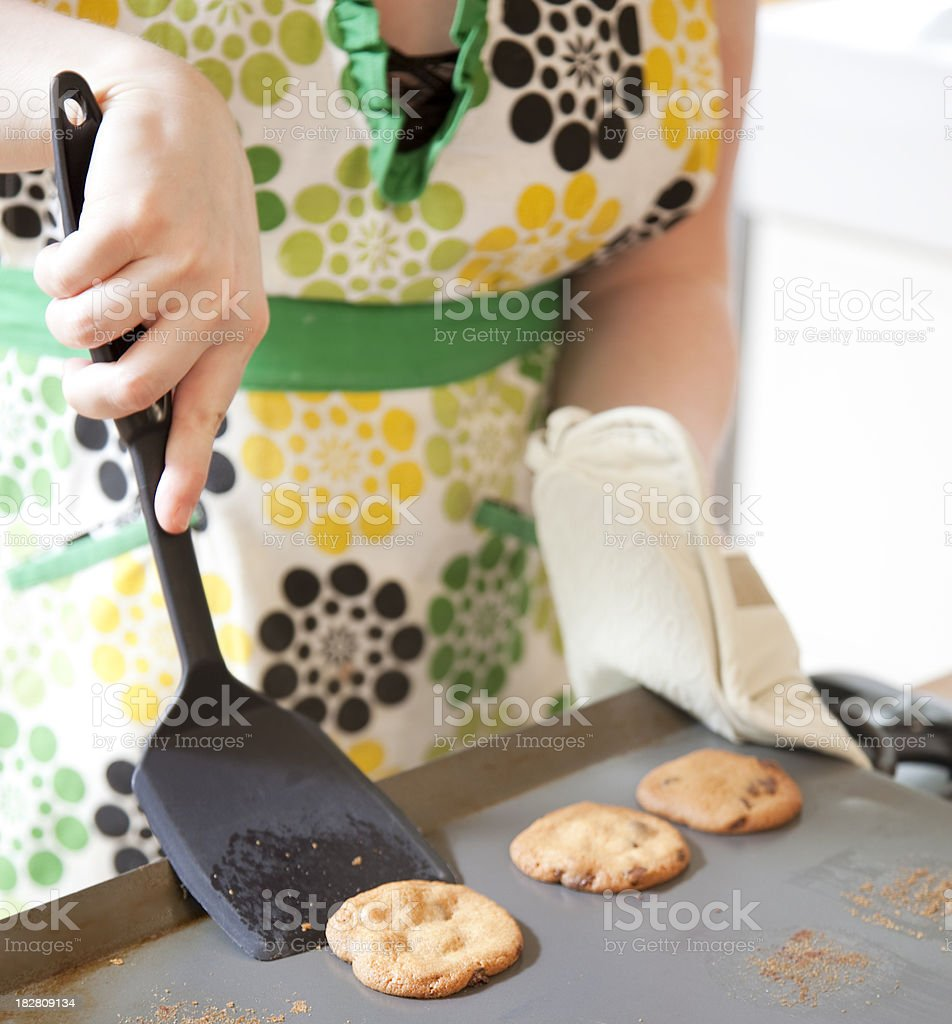 Fresh Cookies royalty-free stock photo