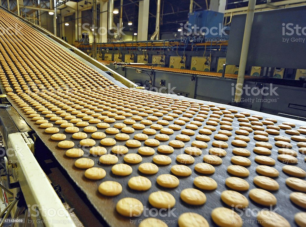 Fresh cookies stock photo