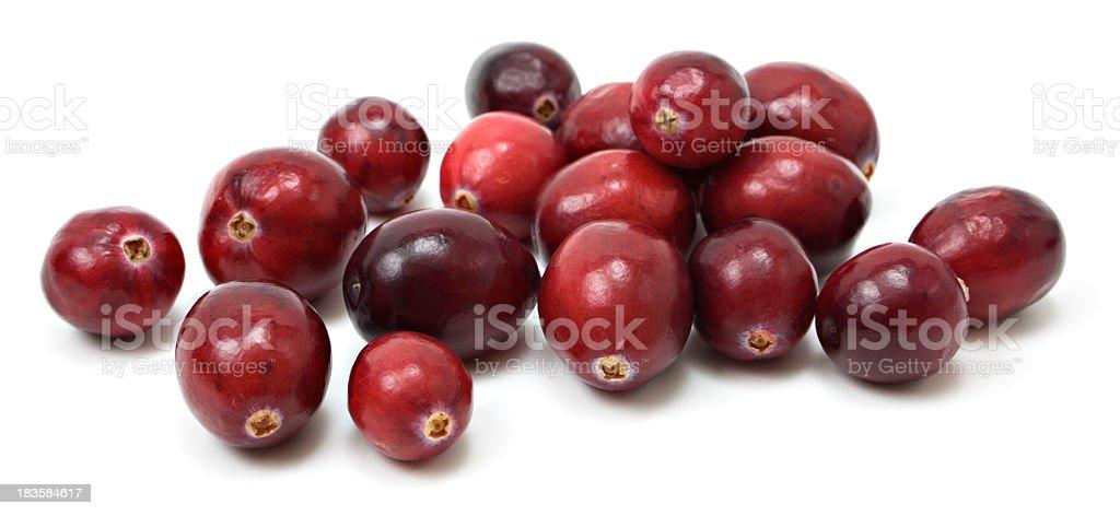 Fresh cranberries stock photo