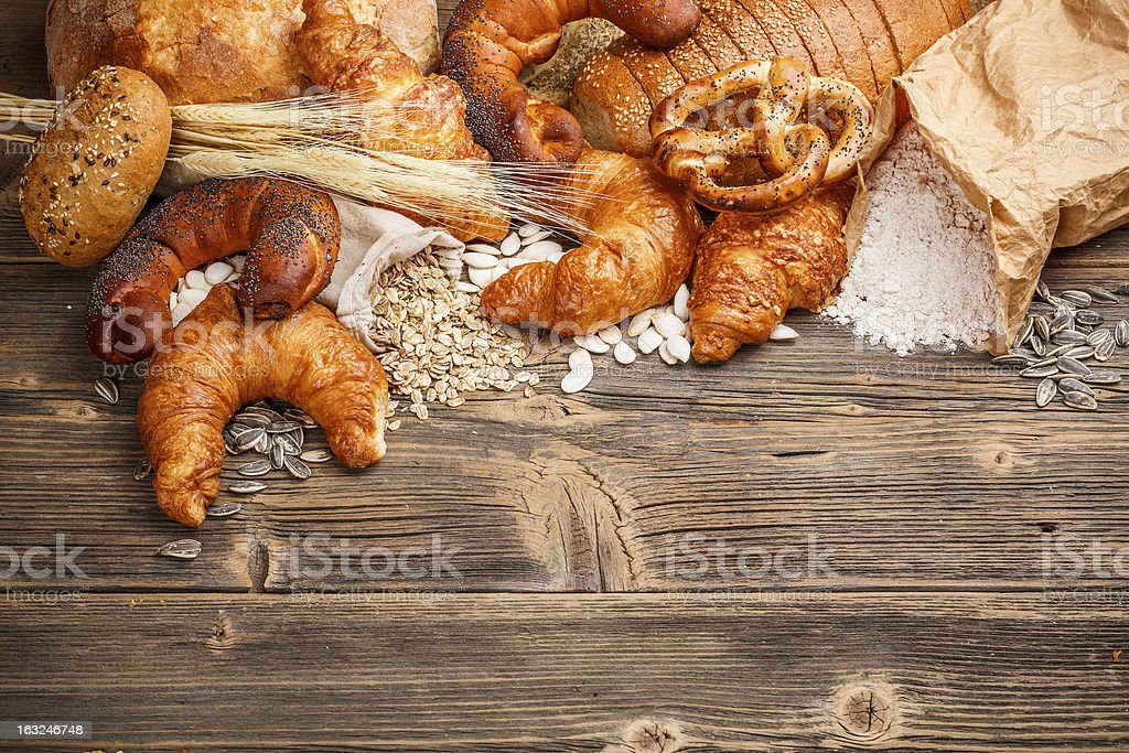 Fresh croissant royalty-free stock photo