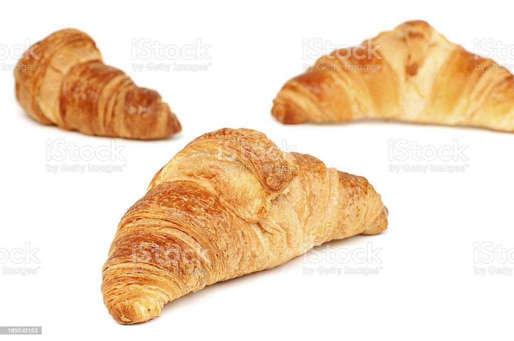 croissants frais photo libre de droits