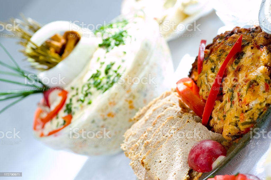 Fresh cutlet royalty-free stock photo